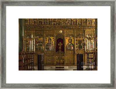 Chapel Of The Holy Trinity Framed Print