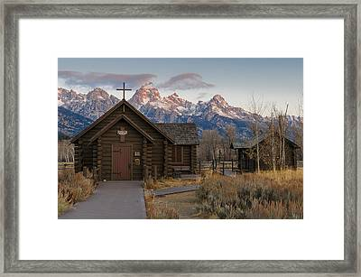 Chapel Of The Transfiguration - II Framed Print