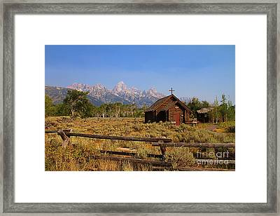 Chapel Of The Transfiguration Framed Print