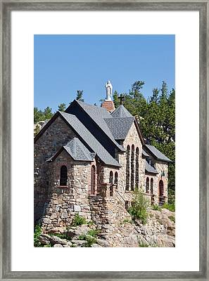 Chapel On A Rock 2 Framed Print