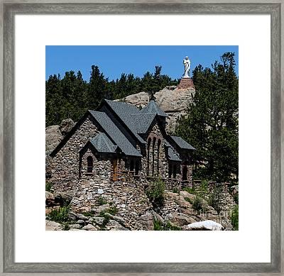 Chapel On The Rock In Allenspark Colorado Framed Print