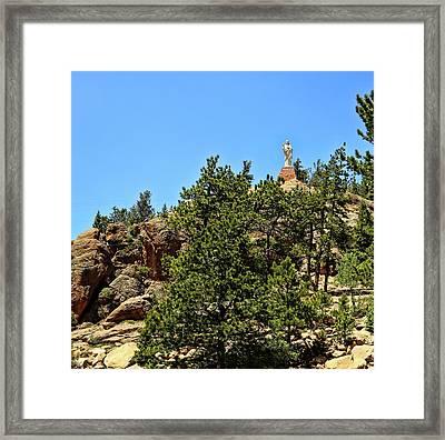 Chapel On The Rocks - Colorado Framed Print
