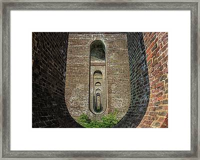 Chapel Viaduct Framed Print by Martin Newman