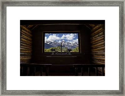 Chapel View Framed Print