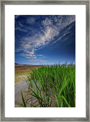 Chapin Beach Framed Print by Rick Berk