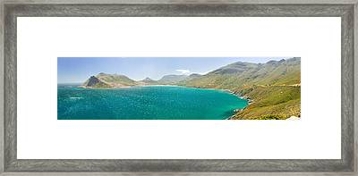 Chapmans Peak Drive To Panoramic View Framed Print