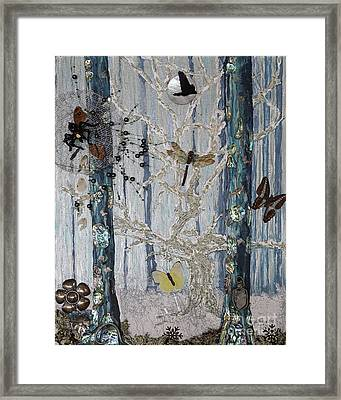 Chapter Green Is Collage Sold Framed Print