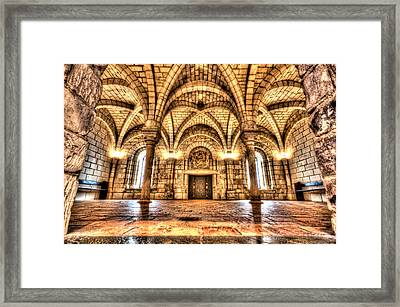 Chapter House Worcester Art Museum Framed Print