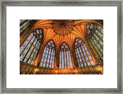 Chapter House York Minster Framed Print