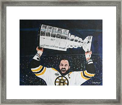 Chara And The Cup Framed Print