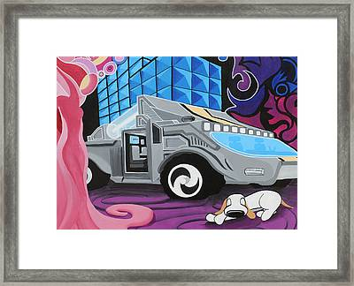 Character Derivative 2 Framed Print by Thomas Albany