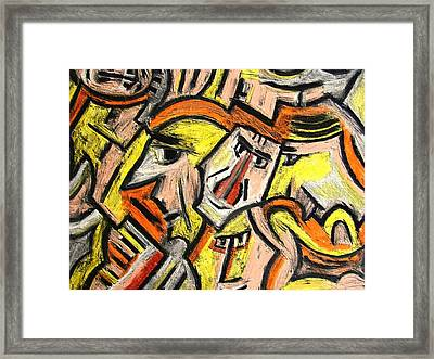Characters By Rafi Talby Framed Print by Rafi Talby