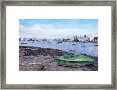 Charco San Gines - Lanzarote Framed Print by Joana Kruse
