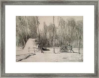 Charcoal Framed Print by MotionAge Designs