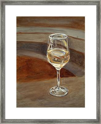 Chardonnay Framed Print by Christopher Reid