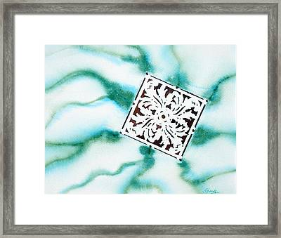 Charged Framed Print by Tina Storey