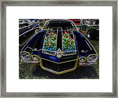 Charged Up Camaro Framed Print