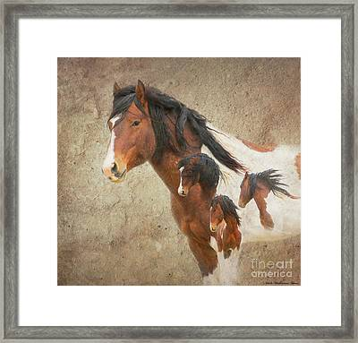 Charger As Art Framed Print by Nicole Markmann Nelson