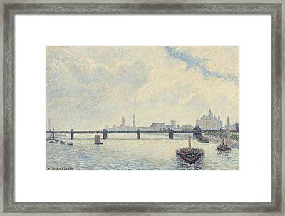 Charing Cross Bridge - London Framed Print