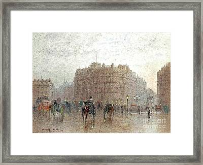 Charing Cross Framed Print by MotionAge Designs