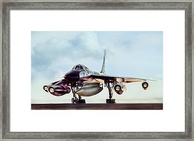 Chariot Of The Gods B-58 Framed Print by Peter Chilelli