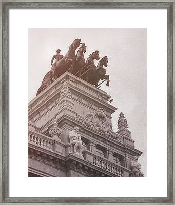 Charioteer Framed Print by JAMART Photography