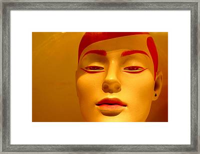 Charito Framed Print by Jez C Self