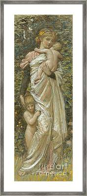 Charity Framed Print by Celestial Images