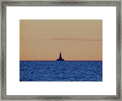 Charity Light Framed Print