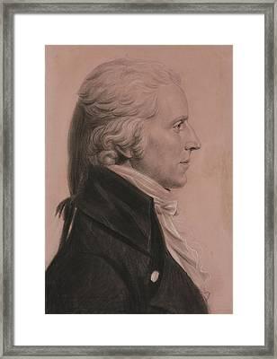 Charles Balthazar Julien Fevret Framed Print