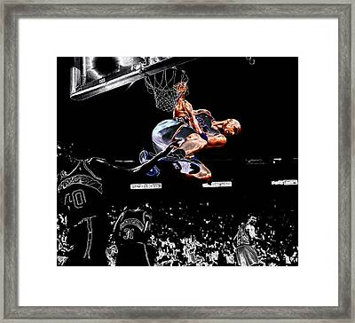 Charles Barkley Hanging Around II Framed Print by Brian Reaves