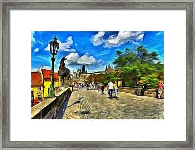Charles Bridge Framed Print