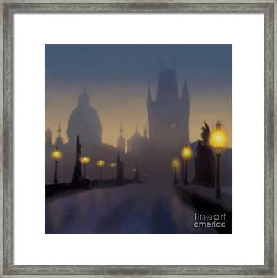 Charles Bridge Prague Framed Print