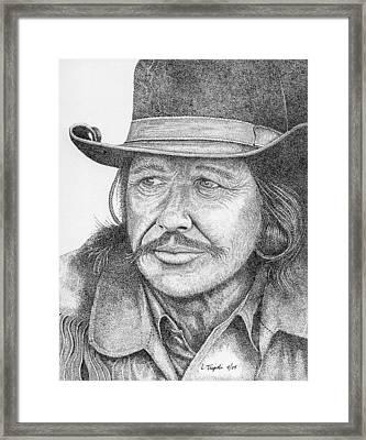 Charles Bronson Framed Print