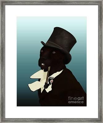 Charles Duddingston Framed Print by Loz Mac