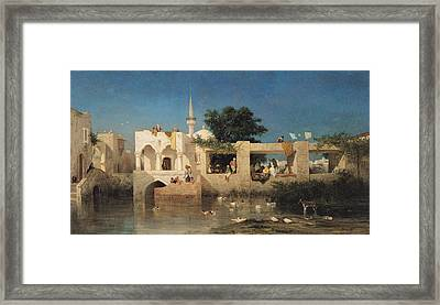 Charles Emile De Tournemine Framed Print by Cafe in Adalia