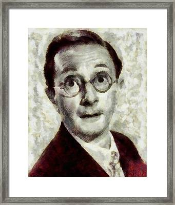 Charles Hawtrey, Carry On Actor Framed Print