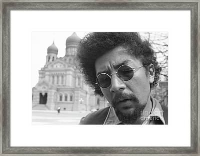 Charles Lloyd Framed Print by The Harrington Collection