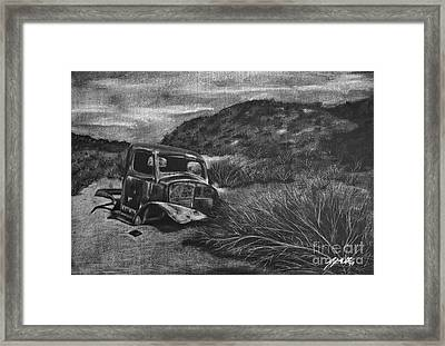 Charles Manson Power Wagon Framed Print