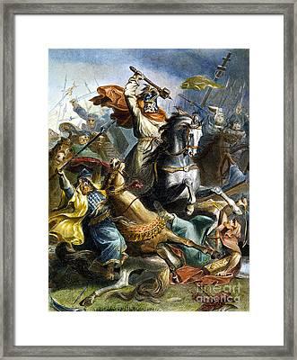 Charles Martel (c688-741) Framed Print by Granger