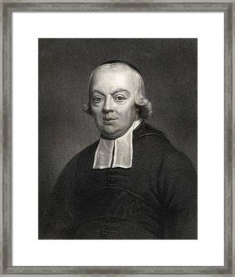 Charles Michel De L Ep E.1712-1789, Abb Framed Print
