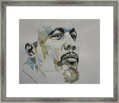 Charles Mingus Art Framed Print