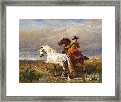 Charles P Framed Print by MotionAge Designs