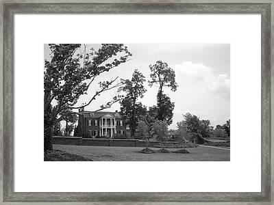 Charles Reed Mansion Framed Print