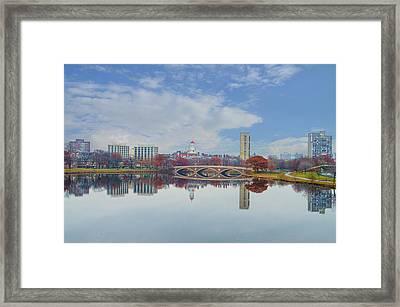 Charles River - Boston Massachusetts Framed Print by Bill Cannon