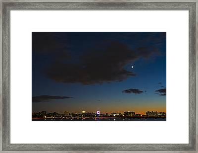 Charles River Sunset Boston Massachusetts Framed Print by Toby McGuire