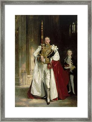 Charles Stewart Sixth Marquess Of Londonderry Framed Print by John Singer Sargent