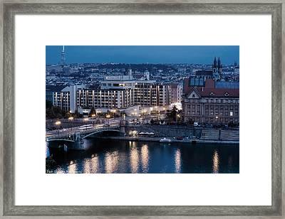 Charles University   Intercontinental Hotel Prague_tonemapped_tonemapped Framed Print