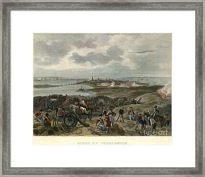 Charleston 1780 Framed Print by Granger
