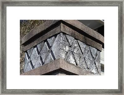 Charleston Architecture. Murray Blvd Framed Print